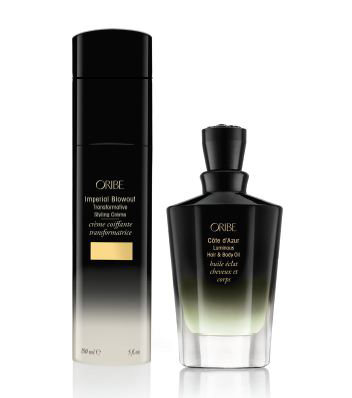 New Côte d'Azur Luminous Oil and Imperial Blowout from Oribe