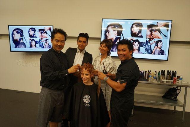 Kien Hoang, Christian Ceja-Compin, Ramona Eschbach and Dan Nguyen