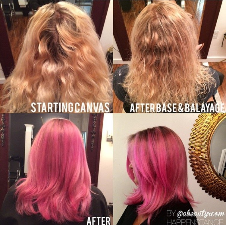 From Start to Bright Pink Finish with Paul Mitchell Formula