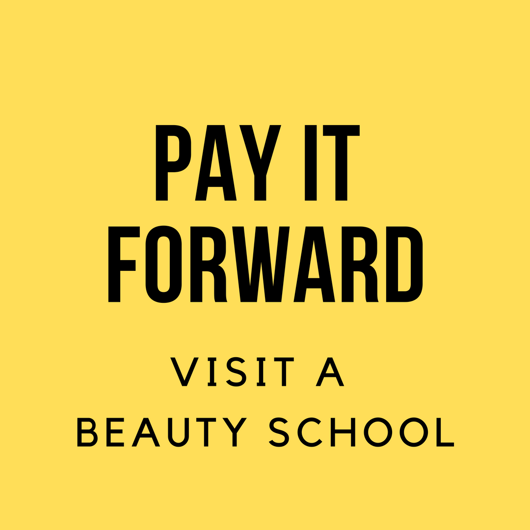 Want to Give Back to Your Industry? Consider Visiting a Beauty School