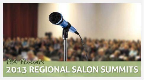 Attend a PBA 2013 Regional Salon Summit Seminar