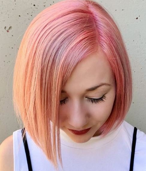 Color How-To: Just Peachy with Goldwell Pure Pigments
