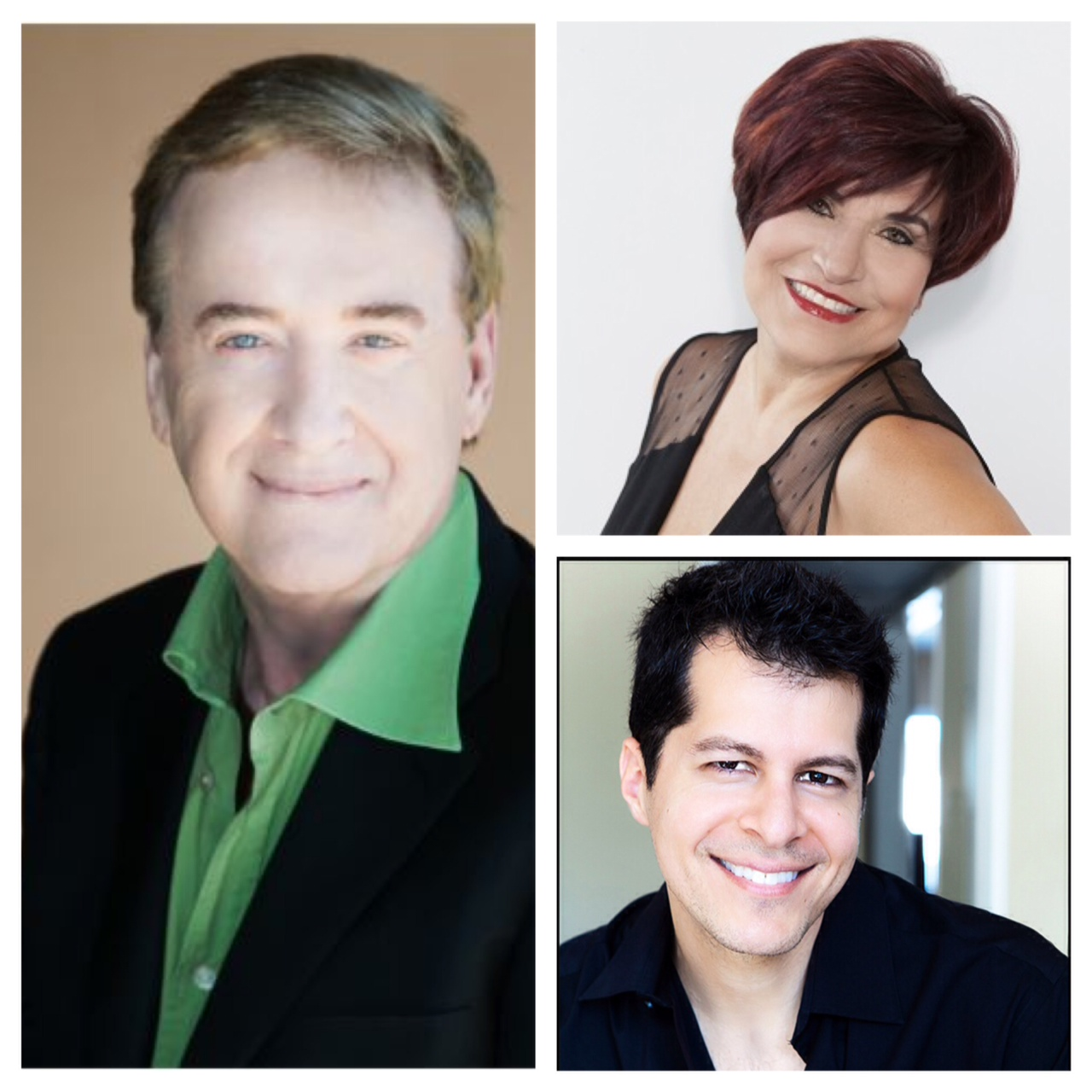 Jim Markham (left), Maggie DiFalco (top right) and Marco Pelusi (bottom right)
