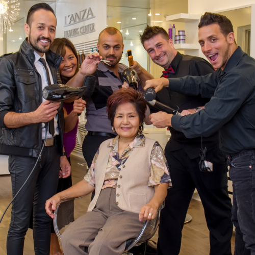 Donating to Charities: Thinking green is not only about the environment, but also about being socially responsible. While protecting the environment, L'Anza also participates in many charities by giving generously to The Breast Cancer Research Fund, and other philanthropic organizations worldwide.