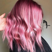 HOW-TO: Pink and Peach Hair Color Formula Using Goldwell @Pure Pigments