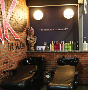"""The graffiti art throughout the salon, gave our salon its signature personality and look that finished our industrial theme. We chose to take a chance on personality, flair and passion; we believe it has paid off."""