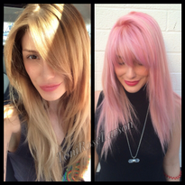 TRANSFORMATION: Dimensional Hot Pink
