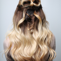 How-To: Bow Braid Half-Updo
