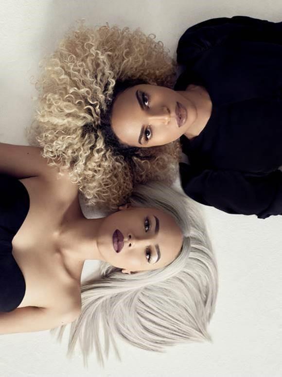 Blonding by Chita Beseau [L] and Leysa Carrillo [R]) PRAVANA