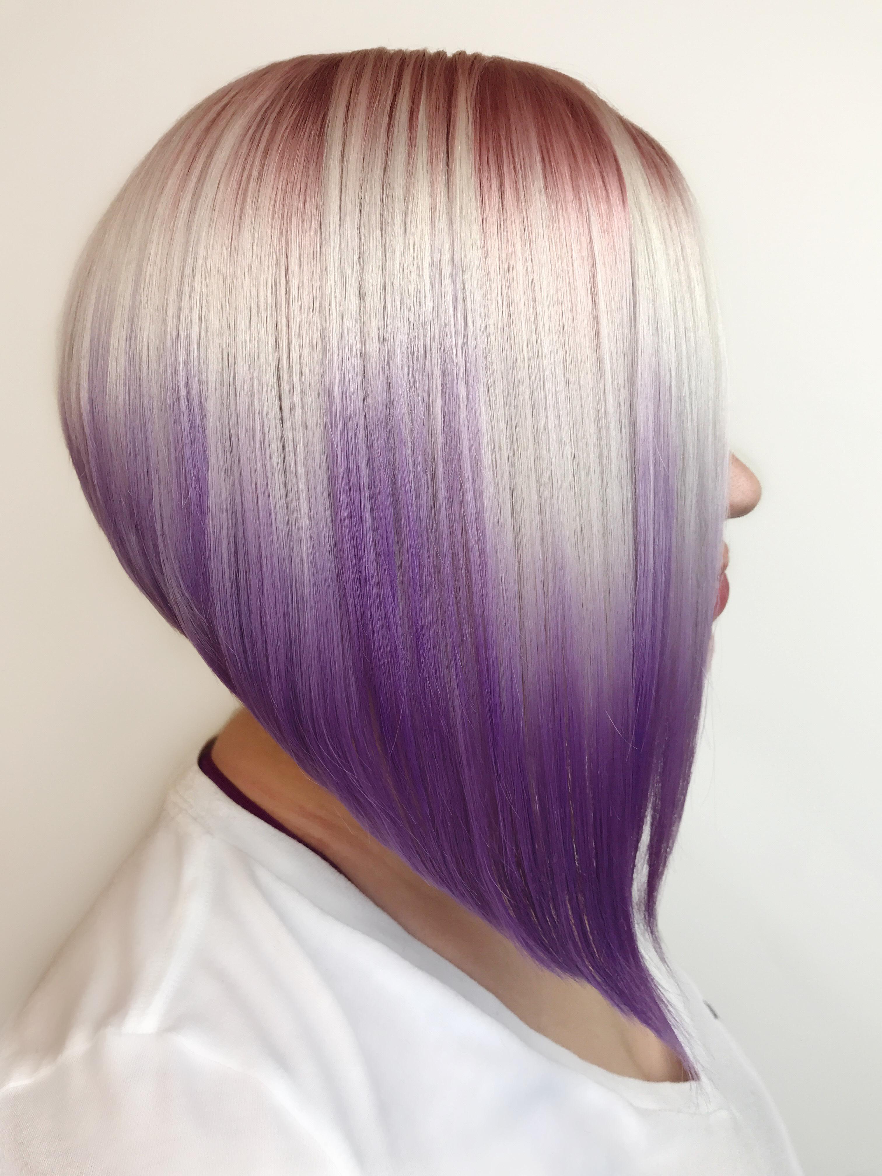 FORMULA: Tri-Color Rose Gold and Purple Tourmaline Melt