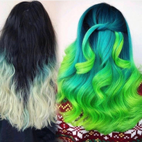 One Session, 12-Hour Color Correction with Pravana