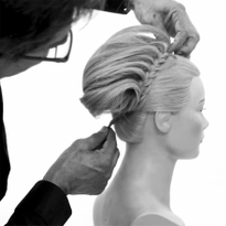 How to Create a Pulled Donut Braid Updo