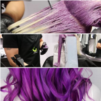 VIDEO HOW-TO: Galactic Grape Makeover Using Extra Long Foils
