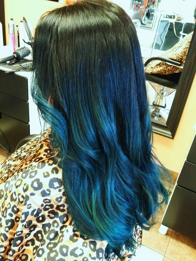 FORMULA: Kind of Lovin' This Blue Ombre