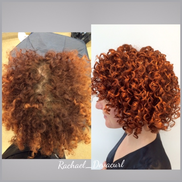 Fresh Color on Copper Curls