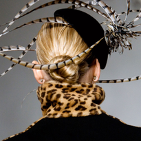 How-To: Ralph Lauren F/W 2008 Chignons and Knots