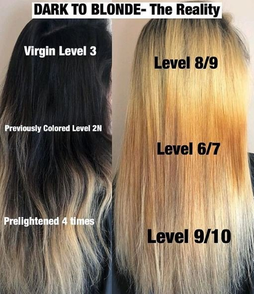 The Reality of Transitioning from Dark to Blonde