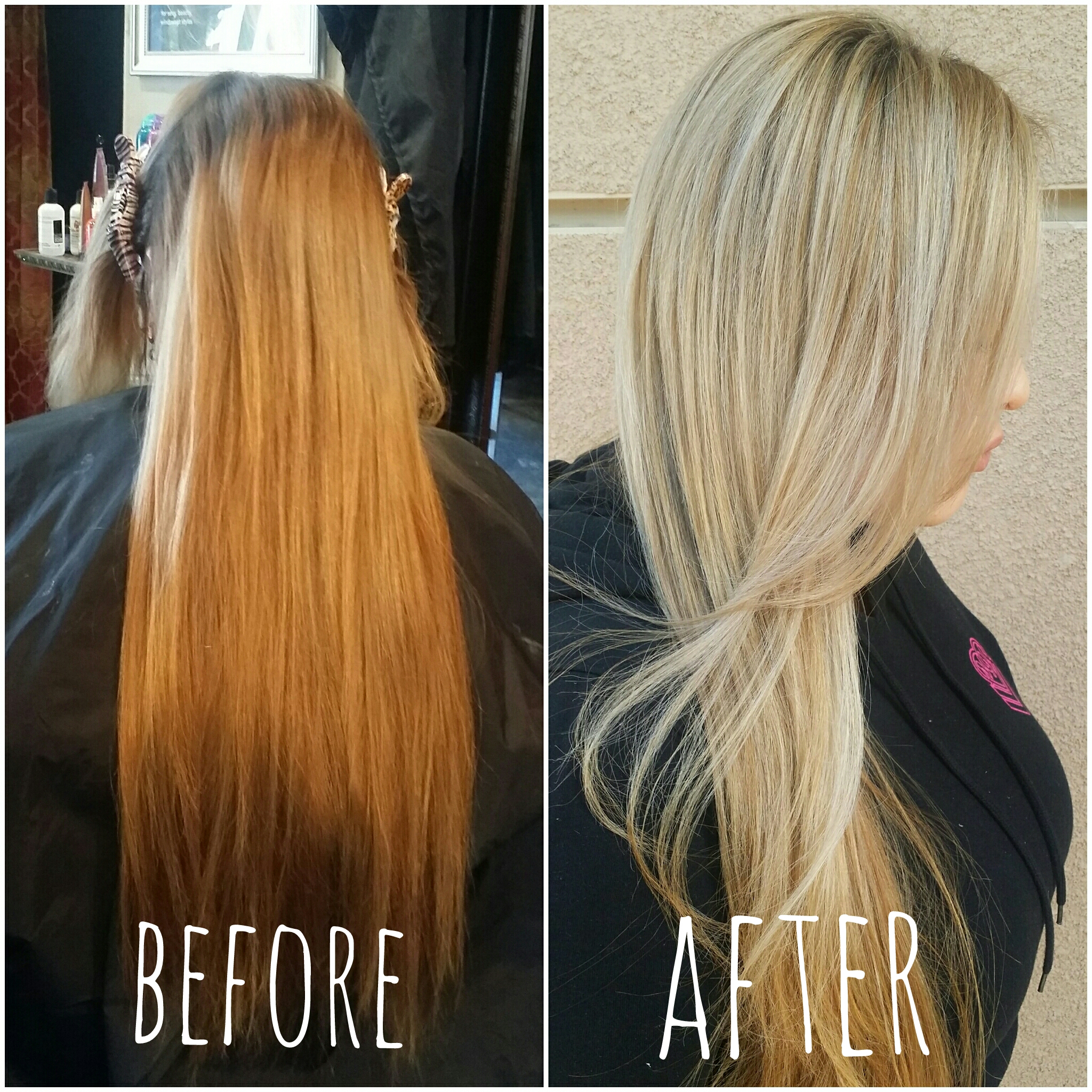 COLOR CORRECTION: Babylights And Balayage To The Rescue