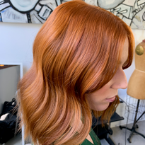 Hair color by Steven D. Waldman (@stevenDWaldman), Director of Technical Training for the Ratner...