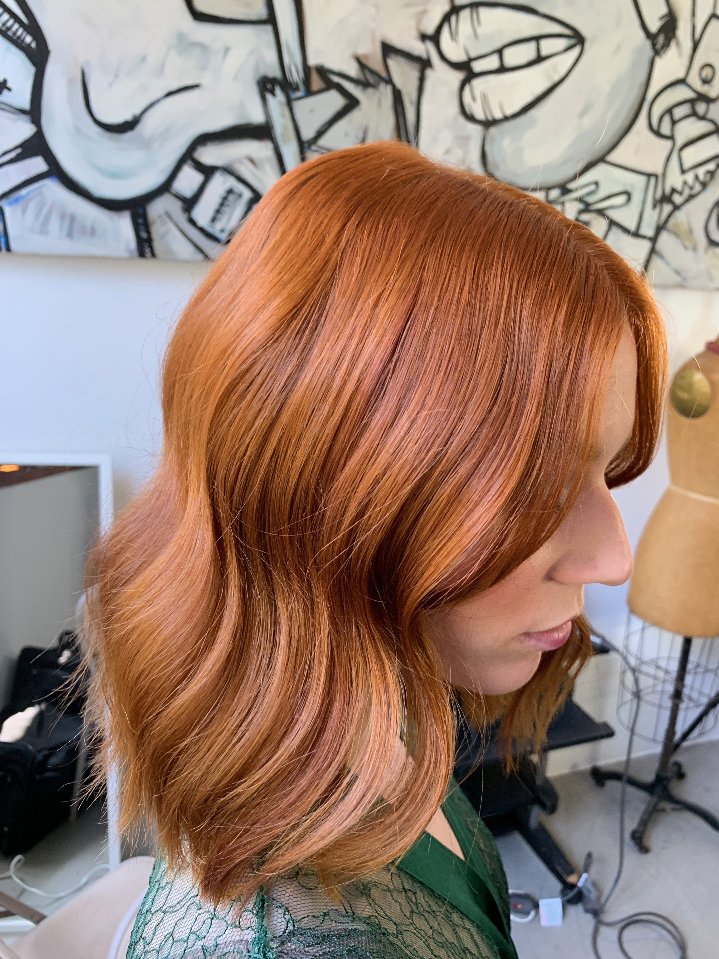 Hair color by Steven D. Waldman (@stevenDWaldman), Director of Technical Training for the Ratner Companies.