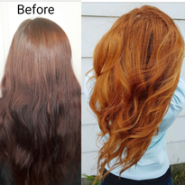 Red Heads Rock: A Unique Red and Gold with Redken