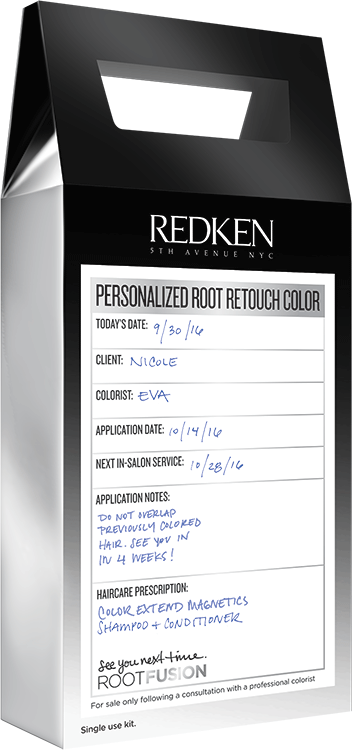 Redken Root Fusion: Salon-Prescribed Color to Cover Grays