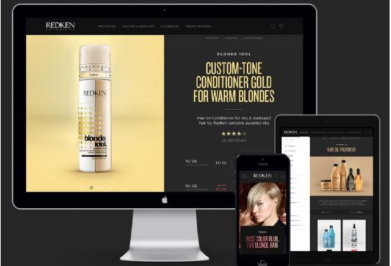 Redken Revamps Websites, Adds Artist Profiles