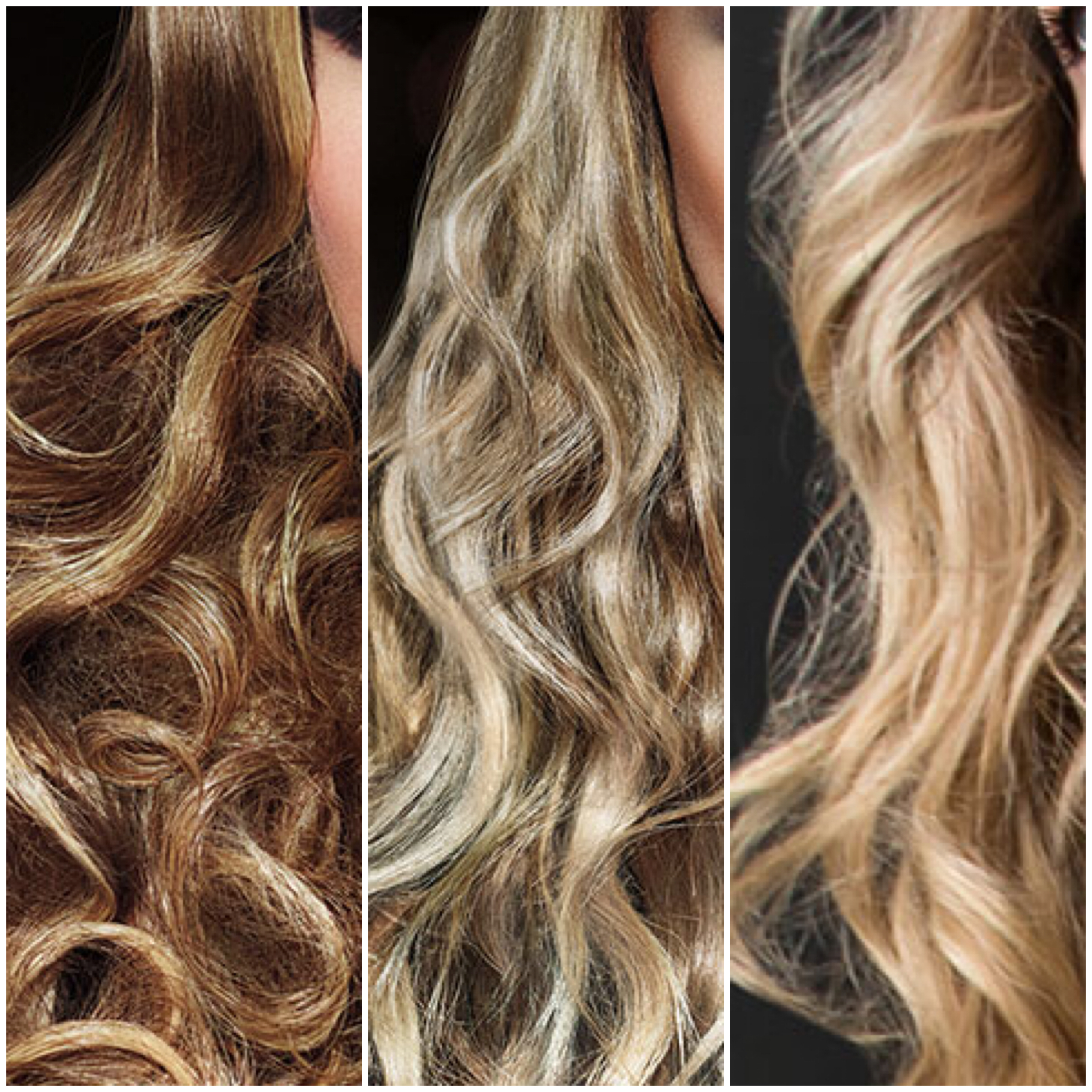 Examples of great balayage from Redken
