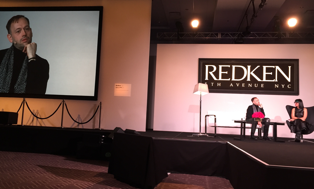 Shane Wolf, GM Redken Global, shares his international view of the industry at NRAC.