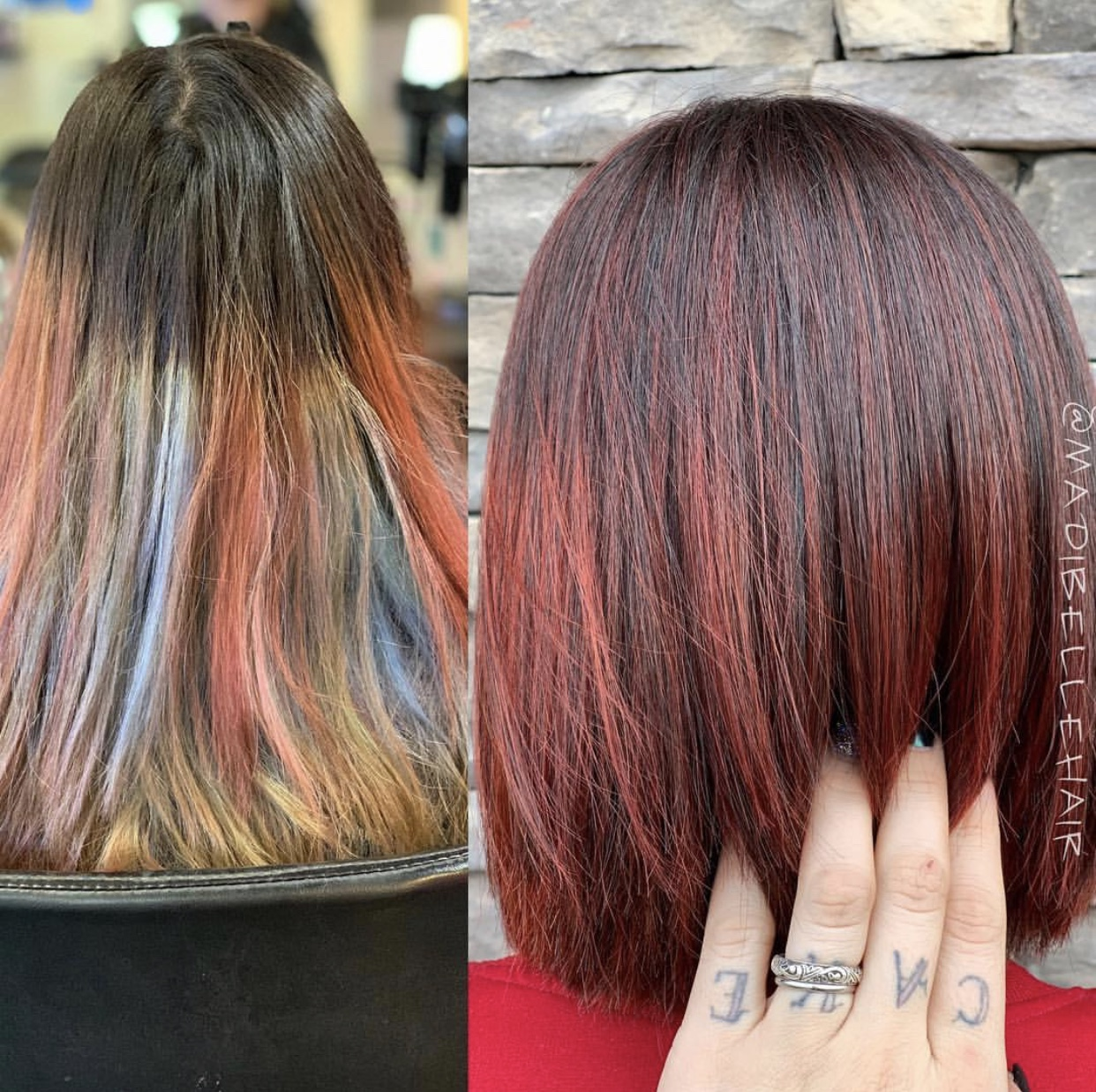 Color Correction: Faded Mermaid to Rich Redhead