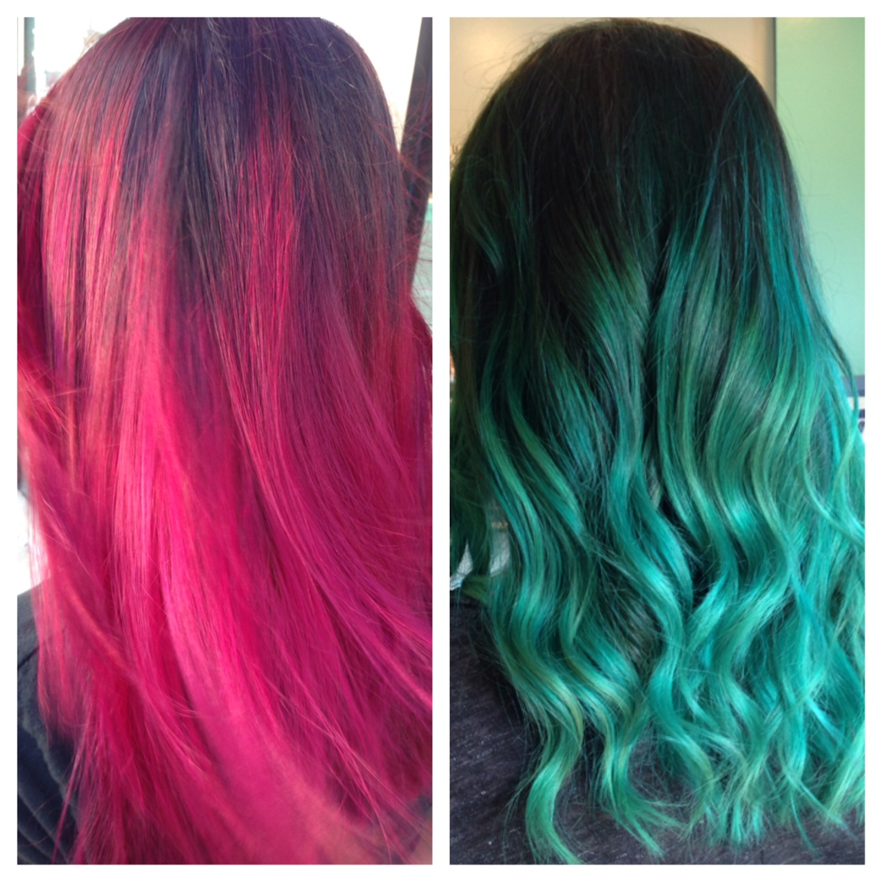 TRANSFORMATION: Pink To Teal