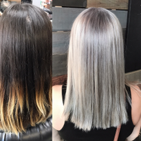 Silvery Blonde...In One Sitting!