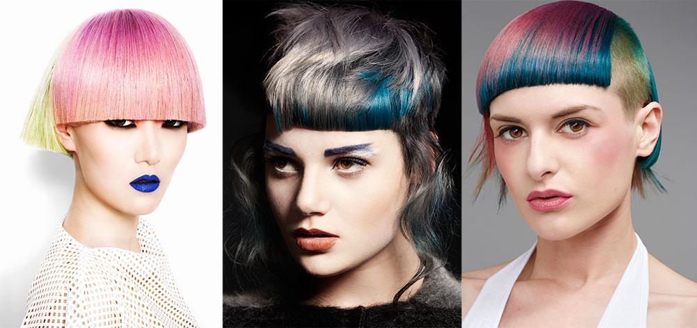 3 Vivid Hair Color Ideas on Super Short Hair