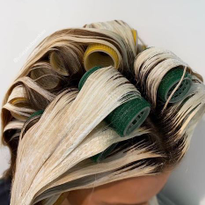 Rollers are Your New Best Friend for Balayage