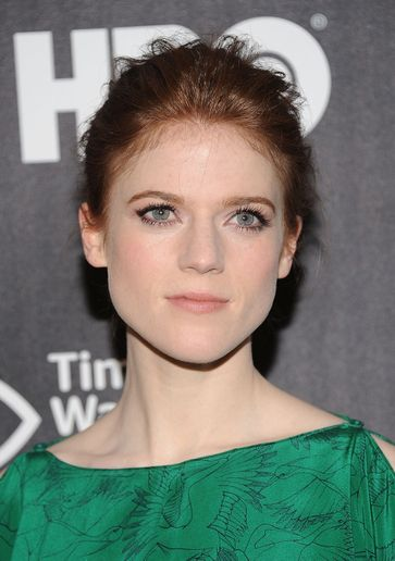 Game of Thrones' Rose Leslie's Premiere Updo