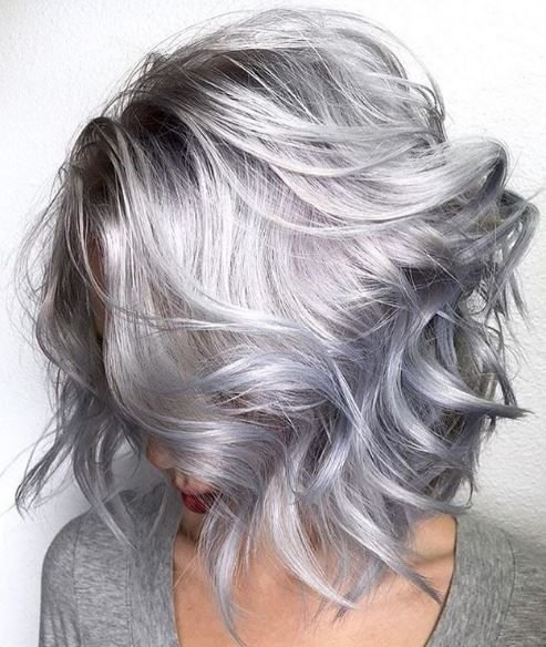 Melodya and Michael from @rossmichaelssalon created this modern-day ice princess look using Pravana color and treated it with Olaplex.