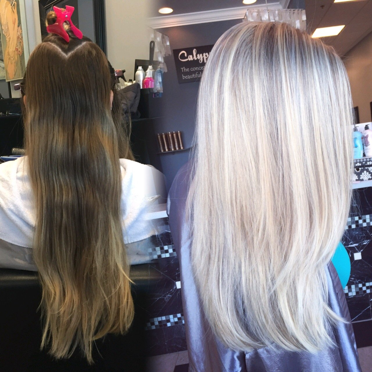 COLOR CORRECTION: Damaged and Banded To Icy Perfection