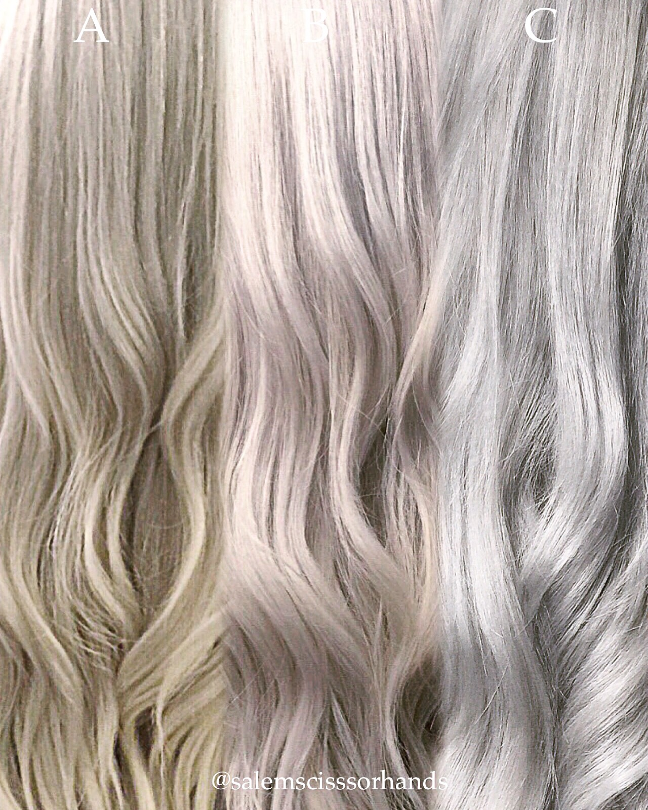 Shades Of Blonde...The Journey To Silver
