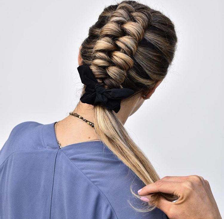@hairbykatied's wearble braids are Pinterest-worthy.