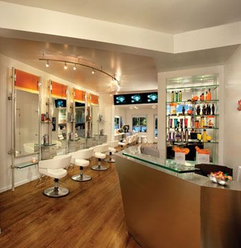 Salon Rock, Inc. <Br>Roslyn, New York <Br>Website: salonrock.com Owner: Stephen Marcuccio Salon established: November 2009 Salon style: jewel box, upscale modern, urban boutique Square footage: 1,000 Number of styling stations: 7 Number of spa treatment rooms: N/A Equipment: Belvedere Furniture: Robelan Displays, Inc. Total design investment: $132,714 Top retail lines (hair care): Alterna, Goldwell Top retail lines (hair color): Goldwell Design by: Habitech Planning & Design Architect: Christine Ambers