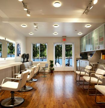 """The moment you enter the salon, you feel as if you are in a clean, natural environment. The abundance of nature/ outdoors transforms your spirit as you enjoy the luxurious services of the salon."""