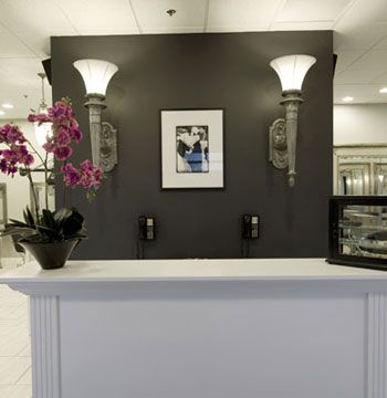 Salon Salon East Amherst, New York Owner: Connie Weil Salon established: September 3, 2009 Opening after remodel: Moved from another location Salon style: upscale, chic, eclectic Square footage: 2,300 Number of styling stations: 20 Number of spa treatment rooms: 1 Equipment: Belvedere Furniture: In-house—Connie Weil Total design investment: $130,300 <Br>Top retail lines (hair care): TIGI, Aquage, Kenra Top retail lines (hair color): Wella, Goldwell Design by: In-house—Connie Weil Architects: Dean and Sutton Architects