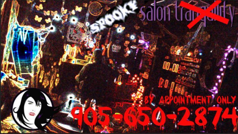 A Spooky Salon: Salon Tranquility