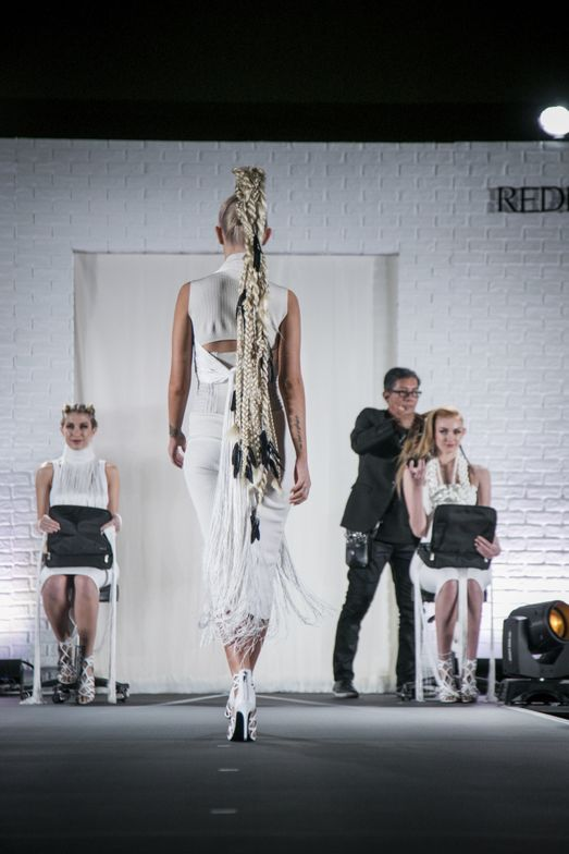 """All Tied Up"" from the last Redken Symposium."