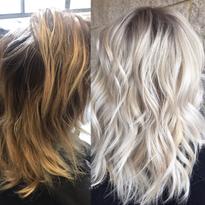 MAKEOVER: Gentle Highlights To Bold Blonde