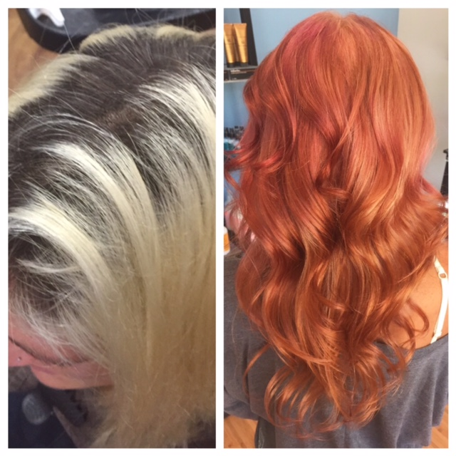 COLOR CORRECTION: Broken Blonde To Hot Rose