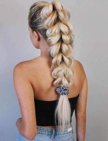 How to Create a Three-Strand, Pull-Through Braid