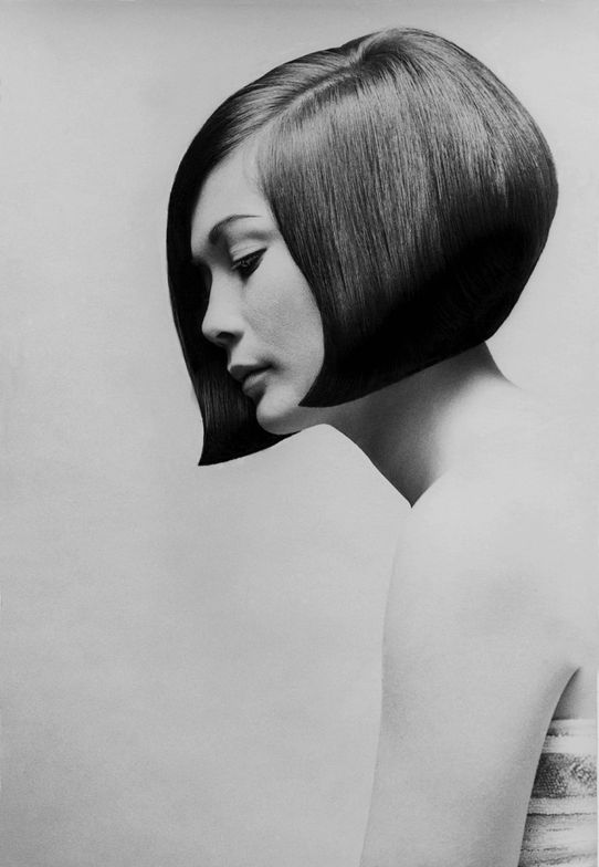 Perhaps the most famous Sassoon finish—Nancy Kwan. Image courtesy of Sassoon