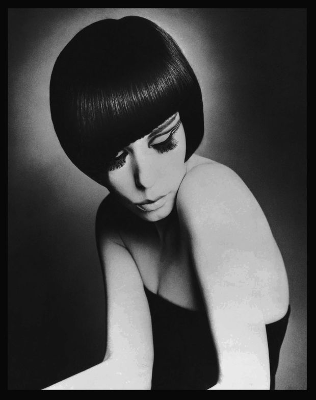 Peggy Moffitt with her Sassoon cut.  Image courtesy of Sassoon