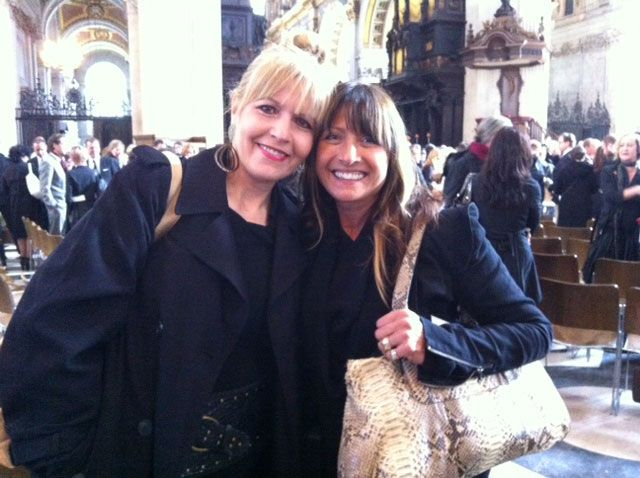 MODERNs Maggie Mulhern with Kris Sorbie.